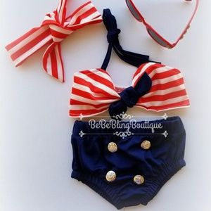 Other - Bikini sailor suit Infant girl swimwear
